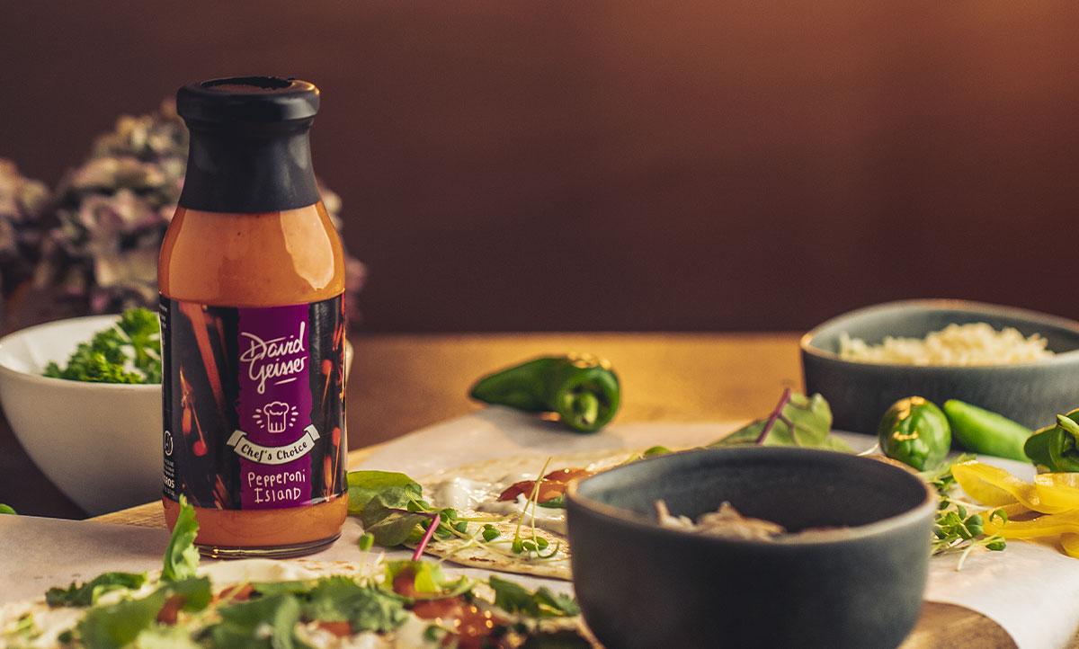 Sauce: ‹Peperoni Island›